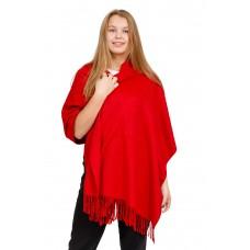 На фото 1 - Шарф-палантин из кашемира, цвет бордо