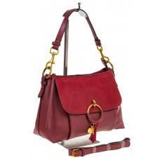 Псевдо sling bag из натуральной кожи и замши для оптовых покупателей