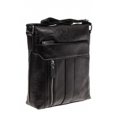 На фото 1 - Мужская сумка планшет, черная