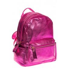 на фото Рюкзак цвета фуксия с металлическим отливом 25