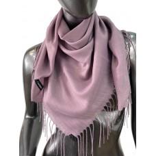 На фото 1 - Лёгкий платок-палантин из кашемира, цвет сиреневый