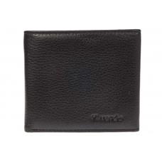 На фото 1 - Строгий мужской кошелек из натуральной черн...