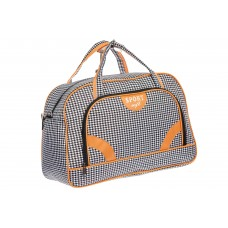 На фото 1 - Дорожная сумка, цвет серый