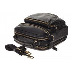 На фото 4 - Мужская сумка из натуральной кожи, с клапаном