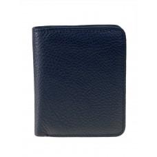 На фото 1 - Небольшой женский кошелёк из мягкой кожи, цвет чёрный