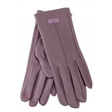 На фото 1 - Классические перчатки женские, цвет пудра