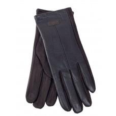 На фото 1 - Классические перчатки женские, цвет коричневый