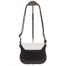 На фото 3 - Сумка saddle bag из черной эко-кожи Buffalo 1026APN