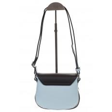 На фото 3 - Сумка saddle bag из голубой эко-кожи Buffalo 1026APN