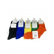На фото 1 - Яркие женские носки из хлопка, 10 пар