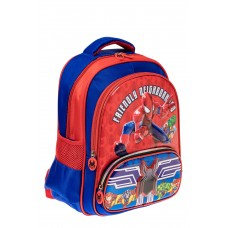 На фото 1 - Рюкзак для мальчика из текстиля, цвет синий...