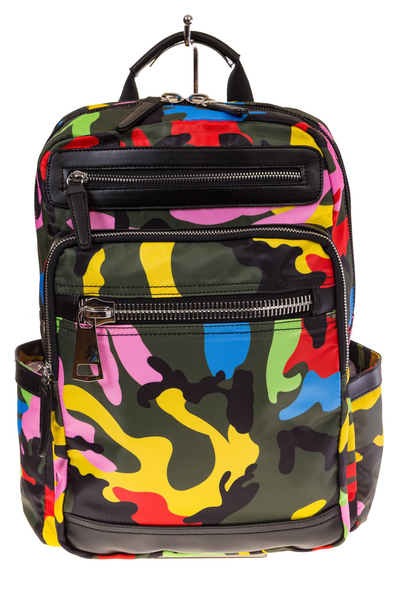 Купить оптом городской рюкзак из текстиля, фото спереди