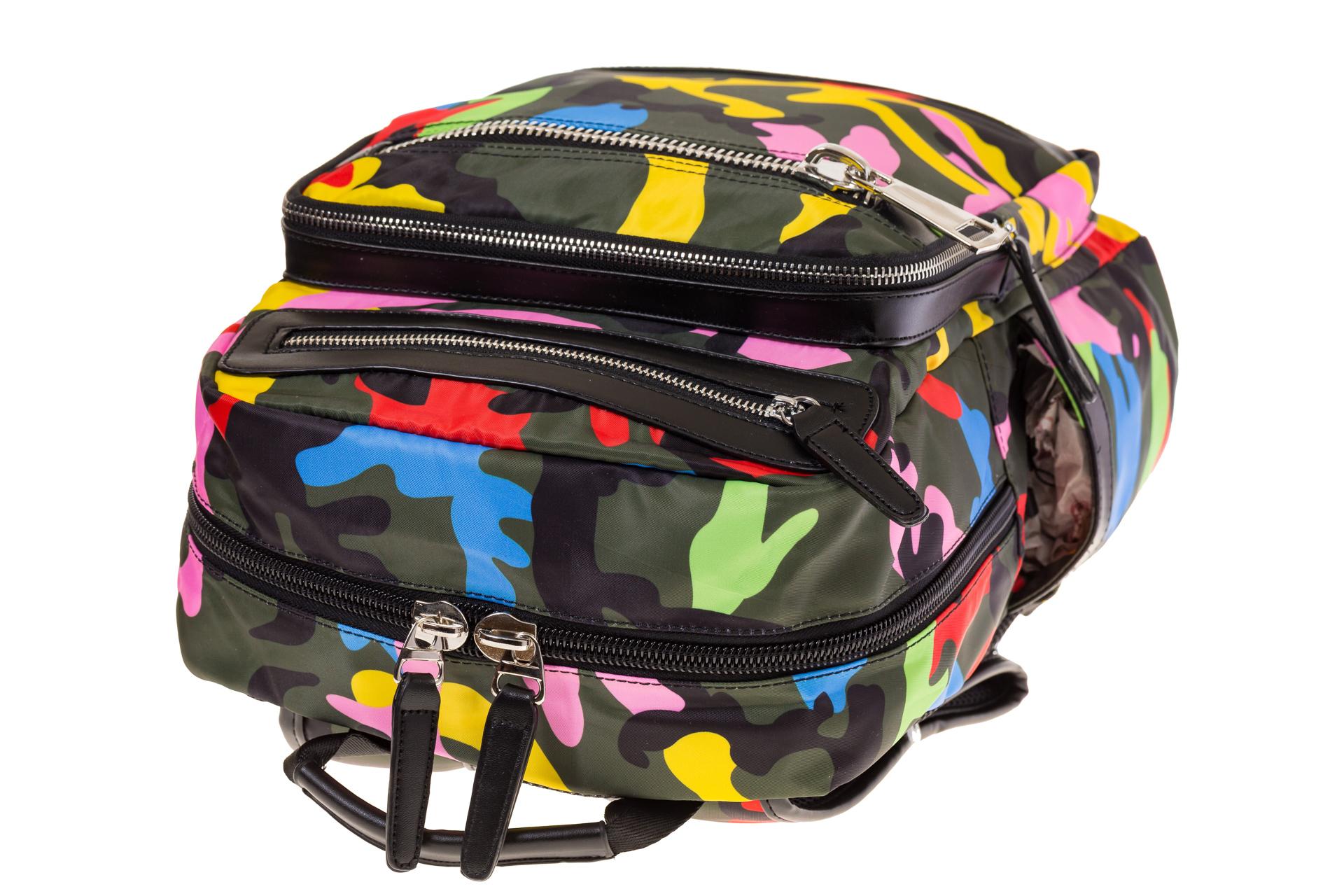Купить оптом городской рюкзак из текстиля, фото изнутри