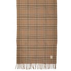 На фото 2 - Недорогой шарф-палантин из кашемира, цвет бежевый