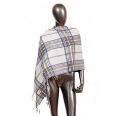 На фото 1 - Недорогой шарф-палантин из кашемира, цвет с...
