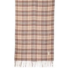 На фото 2 - Недорогой шарф-палантин из кашемира, цвет серо-бежевый