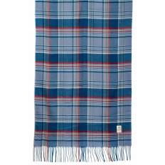 На фото 2 - Недорогой шарф-палантин из кашемира, цвет синий