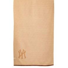 На фото 2 - Теплая шаль-палантин из кашемира, цвет коричневый, производитель Китай