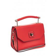 На фото 1 - Каркасная сумка-малышка из натуральной кожи...