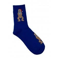 На фото 1 - Весёлые молодёжные носки с принтом