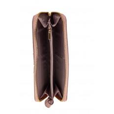 На фото 2 - Элегантное портмоне из натуральной кожи, цвет пудра