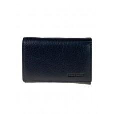 На фото 1 - Женский кошелёк из мягкой натуральной кожи, цвет чёрный