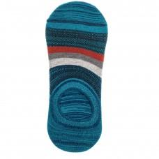 На фото 1 - Следки женские с силиконовым задником, цвет синий