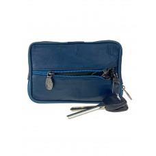 На фото 1 - Кошелёк-ключница из мягкой экокожи, цвет бирюзовый