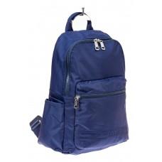 На фото 1 - Вместительный мужской рюкзак из текстиля, цвет синий
