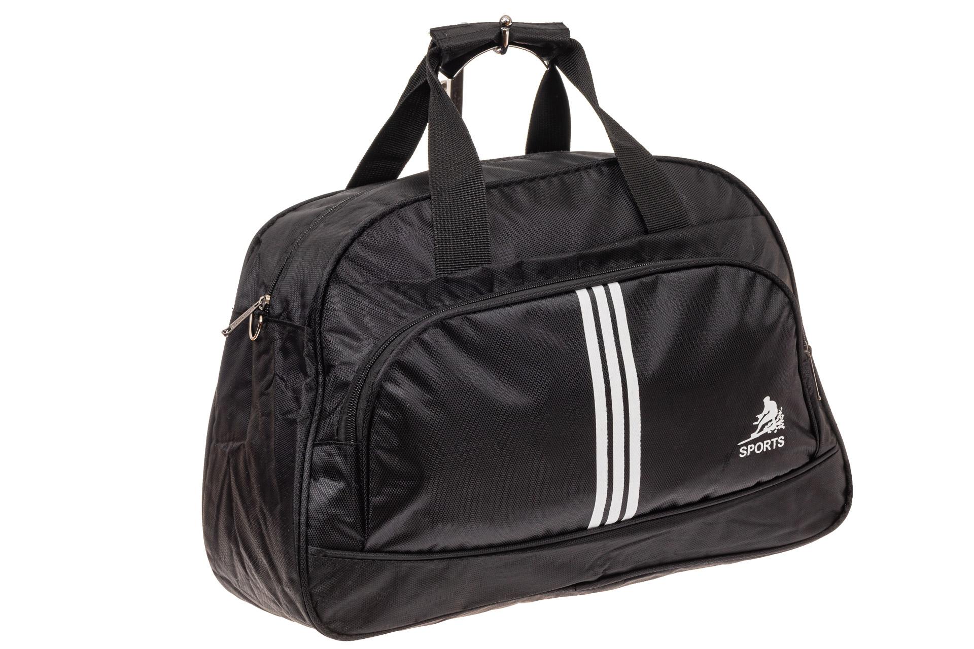 Спортивная сумка из текстиля, цвет черный1622DS0120/1