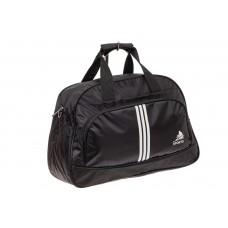 На фото 1 - Спортивная сумка из текстиля, цвет черный