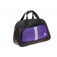 На фото 1 - Спортивная сумка из текстиля, цвет фиолетовый