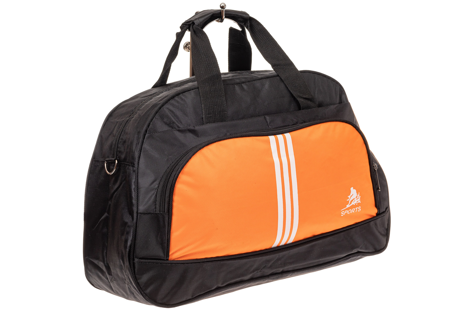 Спортивная сумка из текстиля, цвет оранжевый1622DS0120/15