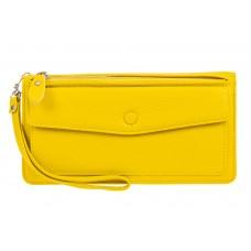 На фото 1 - Женский кошелек клатч из натуральной кожи, ...