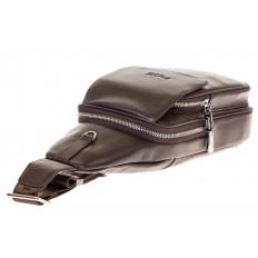 На фото 4 - Сумка sling bag из натуральной кожи для мужчин 1750MM5