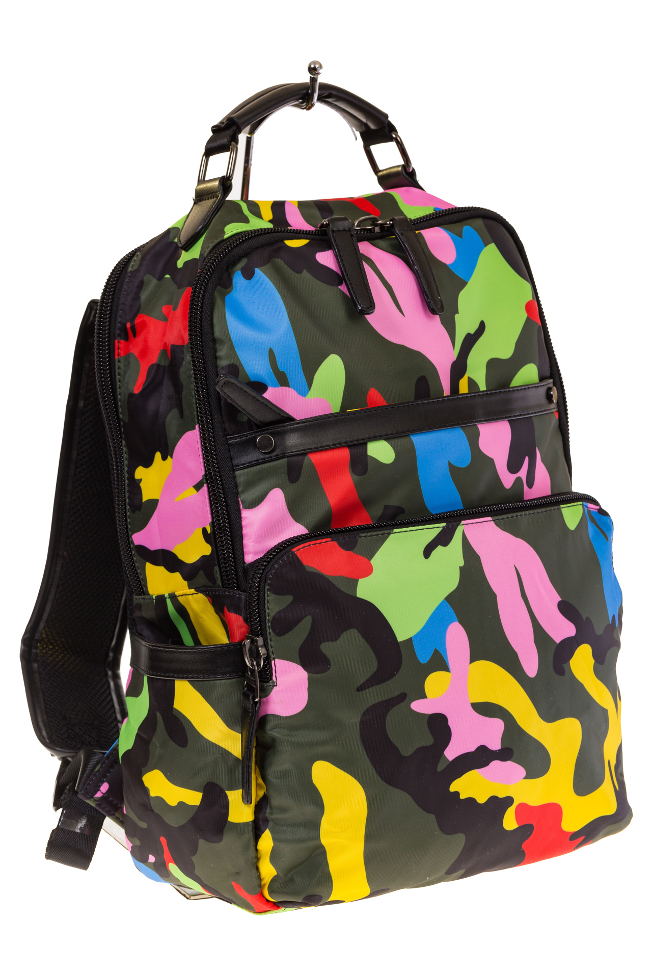Купить оптом рюкзак из текстиля спортивного стиля, фото