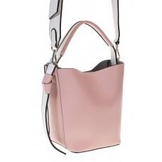 на фото Bucket bag из искусственной кожи розового цвета 176MJ5