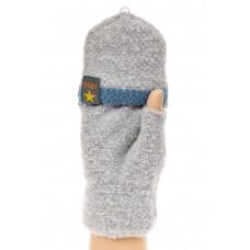 На фото 1 - Недорогие варежки-перчатки женские, митенки...