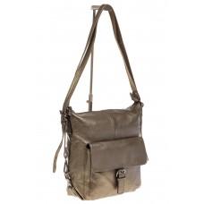 На фото 1 - Женская сумка трансформер из натуральной ко...