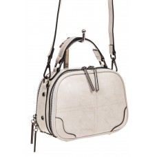 На фото 1 - Миниатюрная сумочка-купол из натуральной ко...