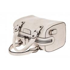 На фото 3 - Маленькая сумочка из натуральной кожи, цвет молочный