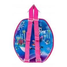 На фото 2 - Маленький детский рюкзачок с ярким дизайном, цвет розовый