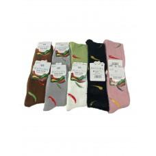 На фото 1 - Термо носки из меха куницы, 10 пар