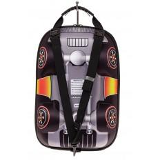 На фото 2 - Детский рюкзак в виде машинки, цвет зеленый
