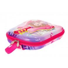 На фото 3 - Плоский детский рюкзачок, цвет розовый с фиолетовым
