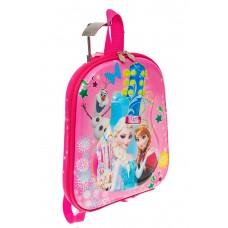 На фото 1 - Плоский детский рюкзачок, цвет розовый