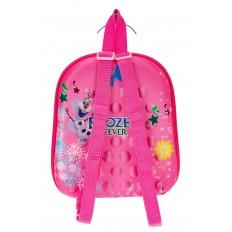 На фото 2 - Плоский детский рюкзачок, цвет розовый