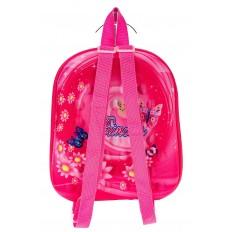 На фото 2 - Плоский детский рюкзачок, цвет фуксия
