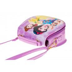 На фото 3 - Сумка для девочки с принтом, цвет фиолетовый