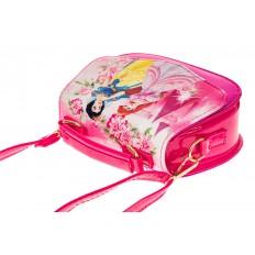 На фото 3 - Сумка для девочки с принтом, цвет розовый